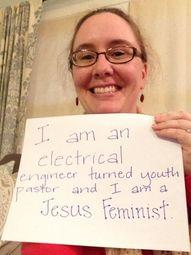 Jesus Feminist Pic