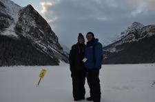 Lake Louise Frozen