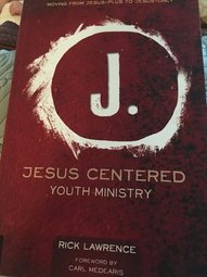 Jesus Centered Youth Min
