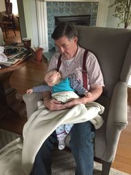 Grandpa & Hope 2015
