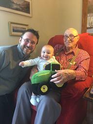 John Deere Tractor From Grandpa
