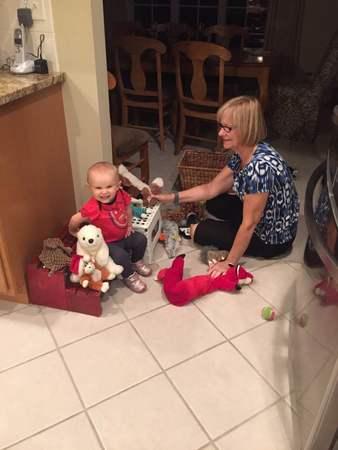 Sleepover At Grandma's Sep 2016