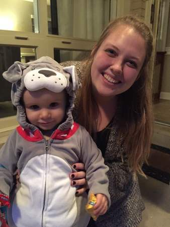 Emily & Hope Halloween 2016