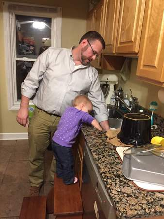 Dishes With Daddy Dec 2016