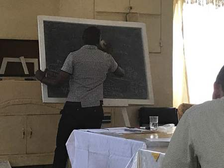 Evans Teaching In Kenya June 2017